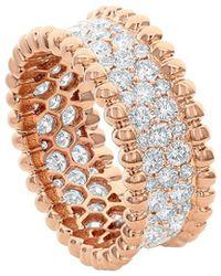 Diana M. Jewels . Fine Jewellery 18k Rose Gold 2.15 Ct. Tw. Diamond Eternity Ring