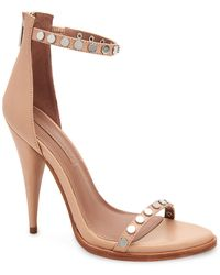BCBGMAXAZRIA Marie Leather Sandal - Multicolour
