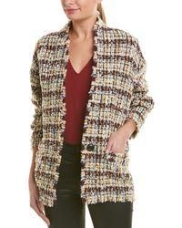 Isabel Marant Etoile Ipso Tweed Jacket - Yellow