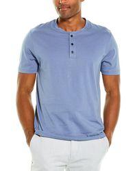 Vince Henley Shirt - Blue