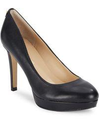 Ivanka Trump - Itkimo Leather Platform Court Shoes - Lyst