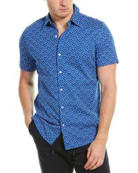 Karl Lagerfeld Woven Shirt - Blue