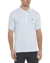 Lacoste L1212 Classic Fit Polo Shirt - Blue