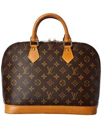 Louis Vuitton Monogram Canvas Alma Pm - Brown