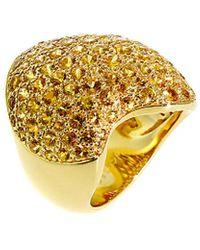 Van Cleef & Arpels Vintage Van Cleef & Arpels 18k & Yellow Sapphire Ring