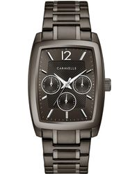 Caravelle NY Caravelle Men's Stainless Steel Watch - Multicolor