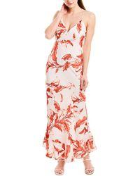 Keepsake Pretty One Maxi Dress - White