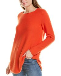 Eileen Fisher Round Neck Top - Red