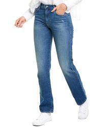 FRAME Denim Le Hollywood Straight Jean - Blue