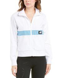 New Balance Long Sleeve Jacket - White