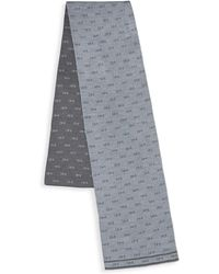 MICHAEL Michael Kors Logo Print Scarf - Gray
