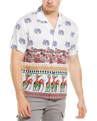Raga Woven Shirt - Red