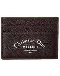 Dior - Leather Card Case - Lyst