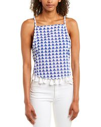 Emerson Fry India Collection Tank - Blue