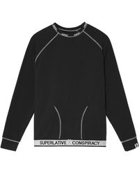 Wesc Parker Raglan Pullover - Black