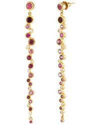 Gurhan - Pointelle 22k 5.47 Ct. Tw. Diamond & Gemstone Earrings - Lyst