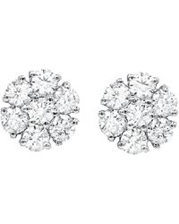 Diana M. Jewels . Fine Jewelry 14k 0.50 Ct. Tw. Diamond Studs - Metallic