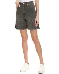 Isabel Marant Etoile Distressed Denim Shorts - Multicolor