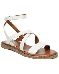 Franco Sarto Kemmer Leather Sandal - Brown