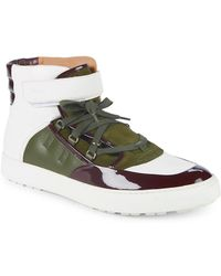 Bally - Osman High-top Leather Trainers - Lyst