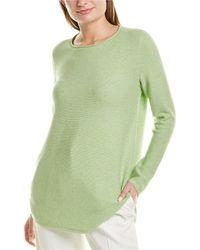 Eileen Fisher Round Neck Top - Green