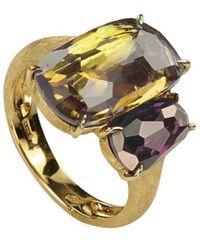 Marco Bicego Murano 18k Gemstone Cocktail Ring - Metallic