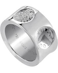 Louis Vuitton - Louis Vuitton Empreinte 18k Diamond Ring - Lyst