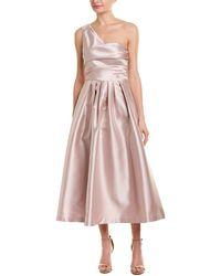 Kay Unger A-line Dress - Metallic
