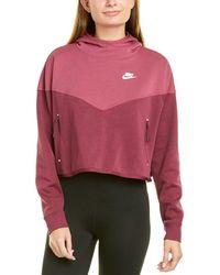 Nike Sportswear Tech Fleece Hoodie - Red
