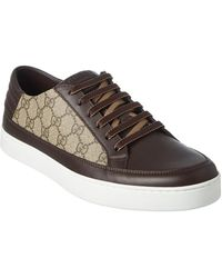 Gucci GG Supreme Canvas & Leather Sneaker - Multicolour