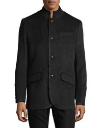 Karl Lagerfeld Military Blazer - Black