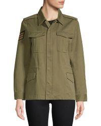 Zadig & Voltaire - Military Zadig Cotton Jacket - Lyst