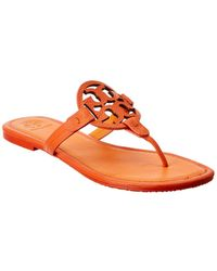 Tory Burch Miller Flip Flop - Red