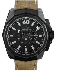Corum Men's Leather Watch - Multicolor