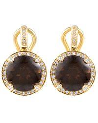 Poiray 18k 5.86 Ct. Tw. Diamond Drop Earrings - Metallic