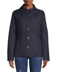 MICHAEL Michael Kors - Missy Quilted Jacket - Lyst