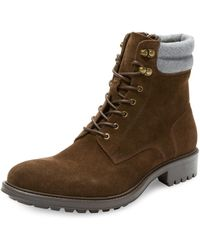 Saks Fifth Avenue Campiglio Suede High Alpine Boot - Brown