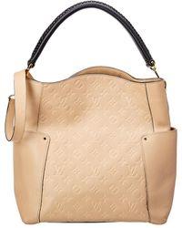 Louis Vuitton Bagatelle Hobo Monogram Empreinte Leather - Natural
