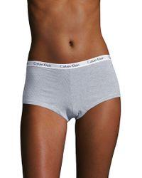 CALVIN KLEIN 205W39NYC - Carousel Cotton-blend Panty - Lyst