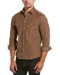 Benson Woven Shirt - Brown