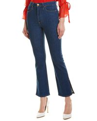 Alice + Olivia Fabulous High-rise Baby Boot Cut - Blue