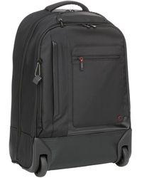 Hedgren Zeppelin Excitor Backpack On Wheels - Black