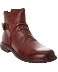 UGG Morrison Pull-on Leather Boot - Brown