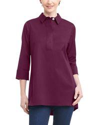 Foxcroft Bre Top - Purple