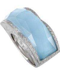 Stephen Webster 18k 26.04 Ct. Tw. Diamond & Gemstone Ring - Blue