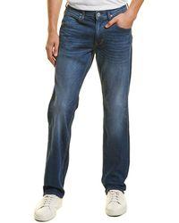 Hudson Jeans Byron Azure Clean Straight Leg - Blue