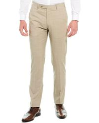 Zanella Parker Wool Trouser - Natural