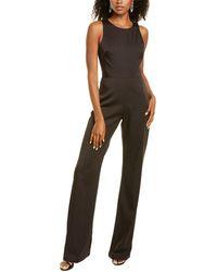 THEIA Applique Jumpsuit - Black