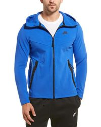 Nike Sportswear Tech Full Zip Hoodie - Blue