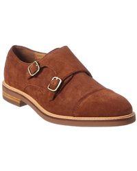 Gordon Rush - Double Monk Suede Shoe - Lyst